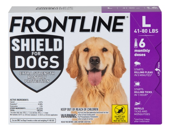 Frontline Shield for Dogs